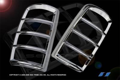 Headlights & Tail Lights - Tail Light Covers - SES Trim - GMC Yukon SES Trim ABS Chrome Taillight Trim - TL112