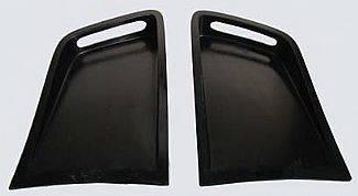 F350 - Body Kit Accessories - Street Scene - Ford F350 Street Scene Fender Scoops for Factory Dually Fenders - 950-72159