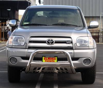 Grilles - Grille Guard - Aries - Toyota Tundra Aries Bull Bar with Stainless Skid - 3 Inch