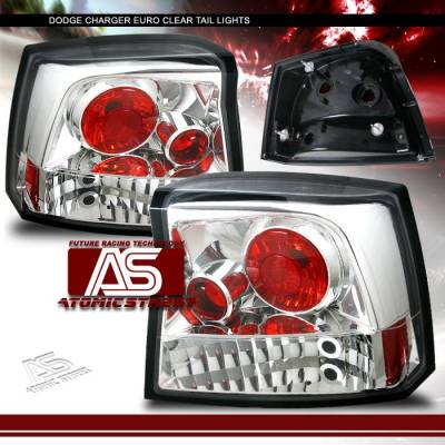 Headlights & Tail Lights - Tail Lights - AS - Euro Chrome Taillights