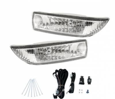 4CarOption - Toyota Corolla 4CarOption Fog Light Kit - Image 1
