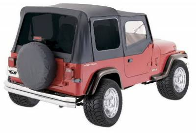 Ragtops Sunroofs - OEM - Rampage - Jeep Wrangler Rampage Complete Soft Top