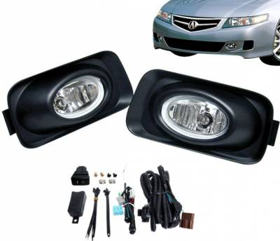 4CarOption - Acura TSX 4CarOption Fog Light Kit