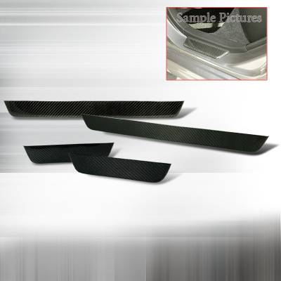 XB - Body Kit Accessories - Spec-D - Scion xB Spec-D Door Step Sill Carbon - DRS-XB03CF