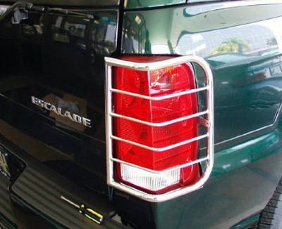 Headlights & Tail Lights - Tail Light Covers - Aries - GMC Denali Aries Taillight Guard Covers