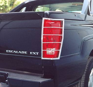 Headlights & Tail Lights - Tail Light Covers - Aries - Cadillac Escalade Aries Taillight Guard Covers