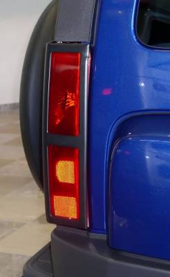 Headlights & Tail Lights - Tail Light Covers - Aries - Hummer H3 Aries Taillight Guard Covers