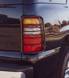 Headlights & Tail Lights - Tail Light Covers - Aries - GMC Yukon Aries Taillight Guard Covers