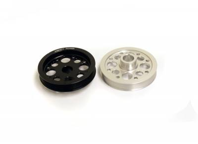 Agency Power - Mitsubishi Lancer Agency Power Light Weight Crank Pulley - Image 1