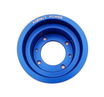 Performance Parts - Pulleys - Agency Power - Mazda RX-8 Agency Power Underdriven Pulley