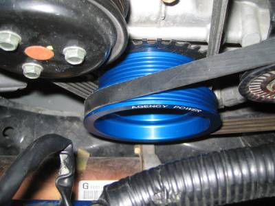 Agency Power - Mazda RX-8 Agency Power Underdriven Pulley - Image 5