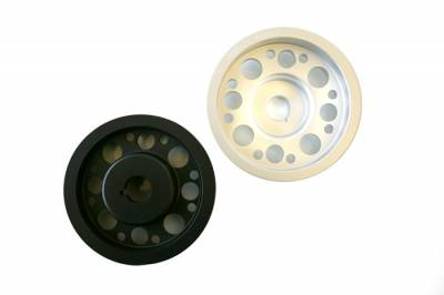 Performance Parts - Pulleys - Agency Power - Subaru WRX Agency Power Light Weight Crank Pulley