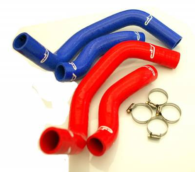 Agency Power - Nissan 240SX Agency Power Silicon SR20 Radiator Hose with Clamps - Image 3