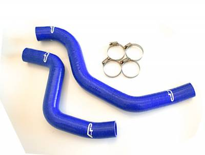 Performance Parts - Engine Internals - Agency Power - Mitsubishi Evolution 8 Agency Power Silicon Radiator Hose with Clamps