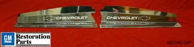 Nova - Body Kit Accessories - Undercover Innovations - Chevrolet Nova Undercover Innovations Bowties & Chevrolet Show Panel