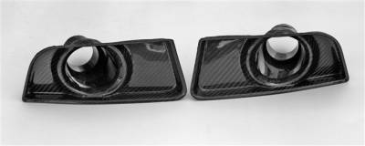 Body Kits - Body Kit Accessories - TruFiber - Ford Mustang TruFiber Carbon Fiber LG78 Boss Brake Duct Cover TC10025-LG78