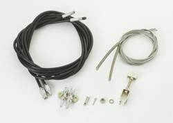 Brakes - Brake Components - SSBC - SSBC Universal Emergency Parking Brake Cable with Rubber Housing - 1228