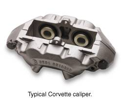 Brakes - Brake Components - SSBC - SSBC Stainless Steel Sleeved Caliper with Aluminum Piston - Left Front - A01-E