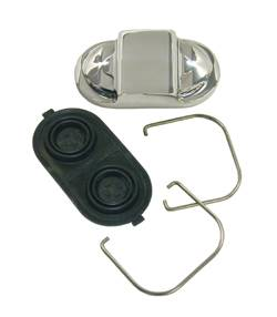 Brakes - Brake Components - SSBC - SSBC Billet Aluminum Master Cylinder Cap with Stainless Bales - A0429