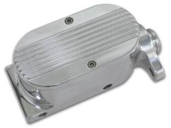 Brakes - Brake Components - SSBC - SSBC Billet Aluminum Dual Bowl Master Cylinder - Ford Mount and Finned Cap - A0470-2