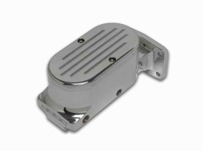 Brakes - Brake Components - SSBC - SSBC Billet Aluminum Dual Bowl Master Cylinder - Mopar Mount and Ball Milled Cap - A0471-5