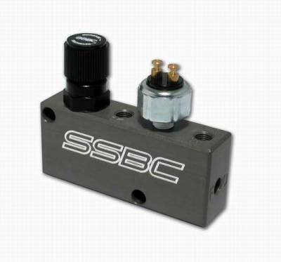 Brakes - Brake Components - SSBC - SSBC All-In-One Prop-Block - Adjustable Proportioning Valve & Distribution Block - A0730PL