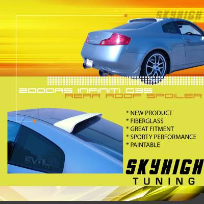 Spoilers - Custom Wing - Custom - G35 SkyHigh Style Roof Spoiler