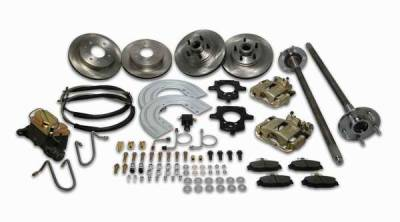 Brakes - Brake Components - SSBC - SSBC Converts Entire Car From 4 to 5 Lug - Rear - A112-2