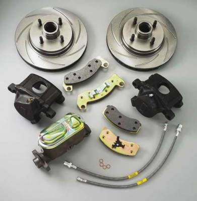 Brakes - Brake Components - SSBC - SSBC Disc to Disc Upgrade to Larger Than Stock Single-Piston Cast Iron Calipers - Front - A112-5