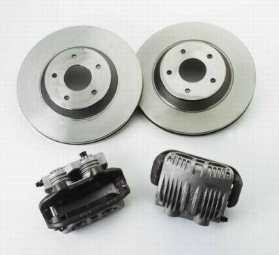 Brakes - Brake Components - SSBC - SSBC Heavy Duty Brake Option Conversion - Front - A113-10