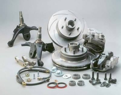 Brakes - Brake Components - SSBC - SSBC Converts Car to Original 1LE Performance Package Factory Option - Front - A123-2