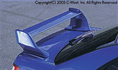 Spoilers - Custom Wing - C-West - Rear Spoiler