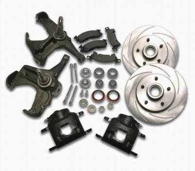 Brakes - Brake Components - SSBC - SSBC Disc to Disc Upgrade to Larger Than Stock Single-Piston Cast Iron Calipers - Front - A126-11