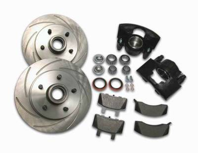 Brakes - Brake Components - SSBC - SSBC Disc to Disc Upgrade to Larger Than Stock Single-Piston Cast Iron Calipers - Front - A126-14