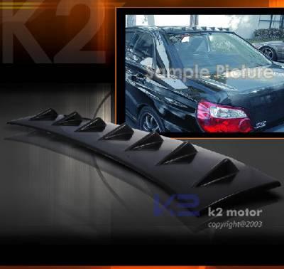 Spoilers - Custom Wing - Custom - Impreza WRX Fin  Roof Spoiler