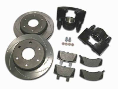 Brakes - Brake Components - SSBC - SSBC Disc to Disc Upgrade to Larger Than Stock Single-Piston Cast Iron Calipers - Front - A126-18