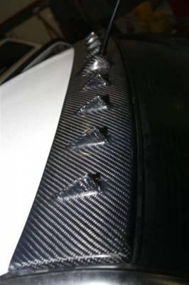 Spoilers - Custom Wing - Custom - Lancer Carbon Fiber Roof Spoiler
