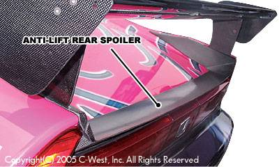 Spoilers - Custom Wing - C-West - Anti-Lift Rear Spoiler