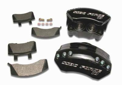 Brakes - Brake Components - SSBC - SSBC Direct Bolt-On Force 10 Super-Twin TK 2-Piston Aluminum Calipers & Pads - Front - A186-1