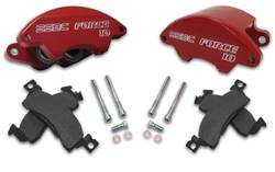 Brakes - Brake Components - SSBC - SSBC Direct Bolt-On Force 10 Super-Twin HD 2-Piston Aluminum Calipers with 43mm Pistons & Pads - Front - A194