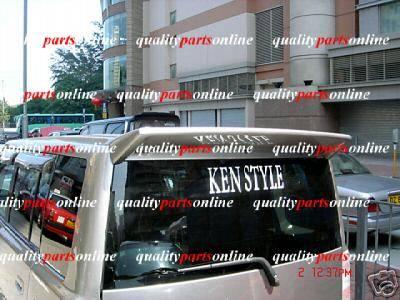 Spoilers - Custom Wing - Custom - xB Ken Style Roof Spoiler