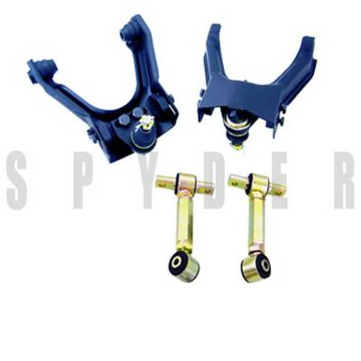 Suspension - Camber Kits - Spyder Auto - Honda Civic Spyder Front & Rear Camber Kit - TS-CK-1006