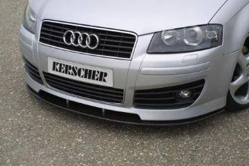 A3 - Front Bumper - Custom - Kline Front Carbon Lower Lip Spoiler