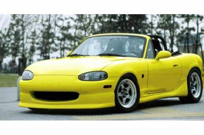 Miata - Front Bumper - Chargespeed - Mazda Miata Chargespeed Front Spoiler