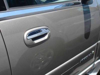 Suv Truck Accessories - Chrome Billet Door Handles - TFP - TFP Stainless Steel Door Handle - Lever Insert Accent - 461L