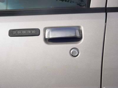 Suv Truck Accessories - Chrome Billet Door Handles - TFP - TFP Stainless Steel Door Handle - Lever Insert Accent - 469L