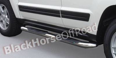 Suv Truck Accessories - Running Boards - Black Horse - Jeep Commander Black Horse Side Steps