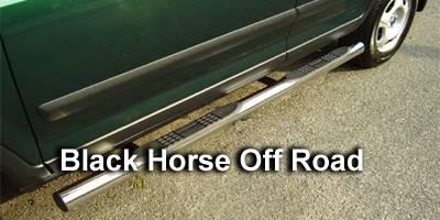 Suv Truck Accessories - Running Boards - Black Horse - Honda CRV Black Horse Side Steps