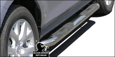 Suv Truck Accessories - Running Boards - Black Horse - Mazda CX-7 Black Horse Side Steps