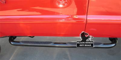 Suv Truck Accessories - Running Boards - Black Horse - Ford F550 Black Horse Side Steps